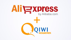 Aliexpress and Qiwi