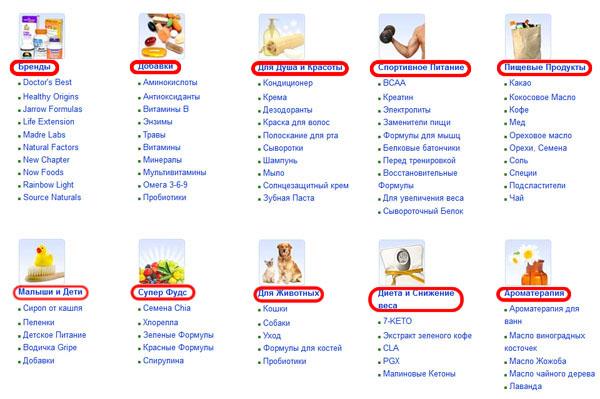 iHerb (Айхерб): онлайн-магазин натуральных и органических продуктов