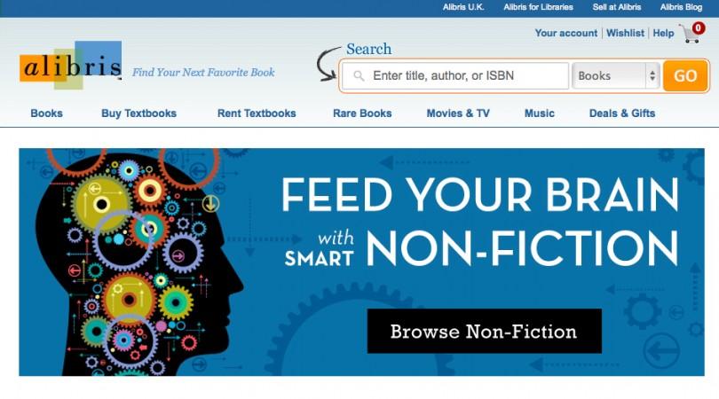 Книжный интернет-магазин Америки Alibris.com