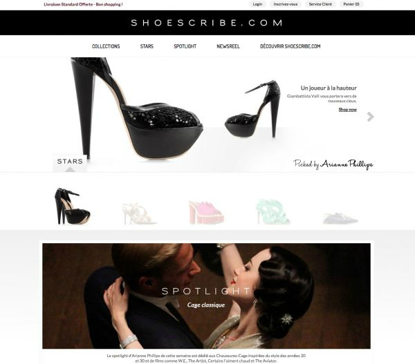 New international footwear site Shoescribe.com_