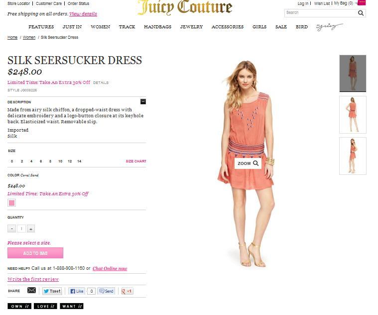 Модели Juicy Couture