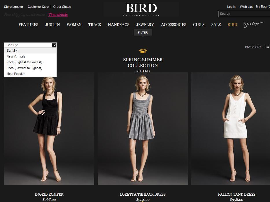 Дизайнерские коллекции Juicy Couture