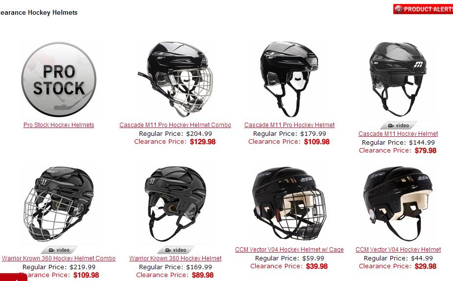New items hockeymonkey.com