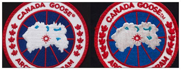 Подделка Canada Goose