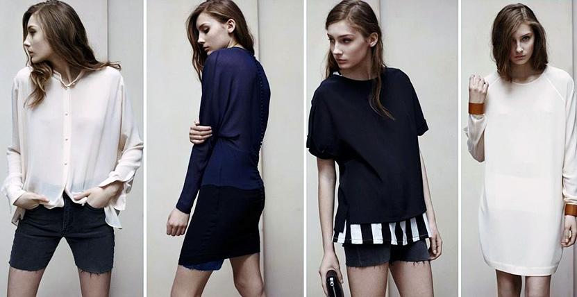 Коллекция одежды бренда Acne
