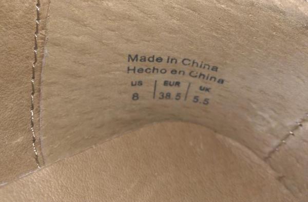 Как и многие другие бренды Aldo шьют в Китае