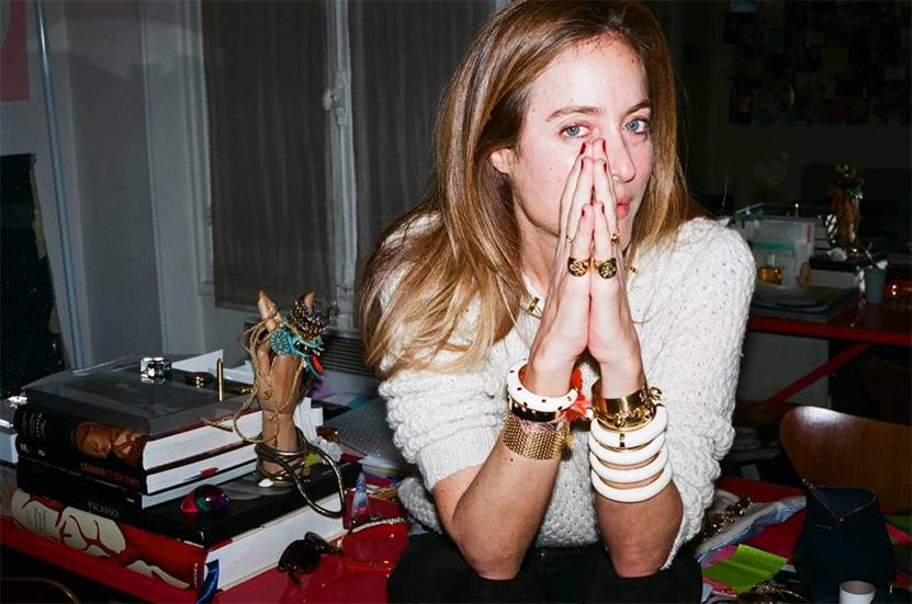 Аурелия Бидерман — основательница одноимённого бренда Aurelie Bidermann