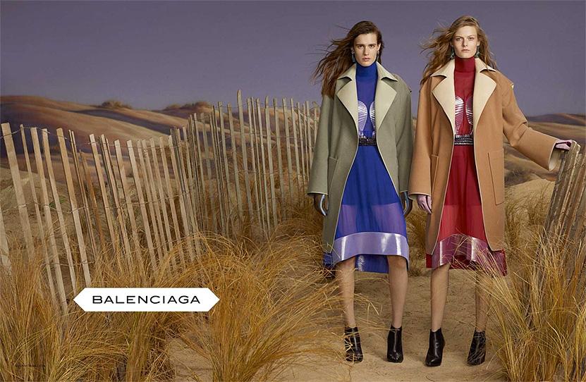 Женская коллекция пальто Balenciaga (Баленсиага)