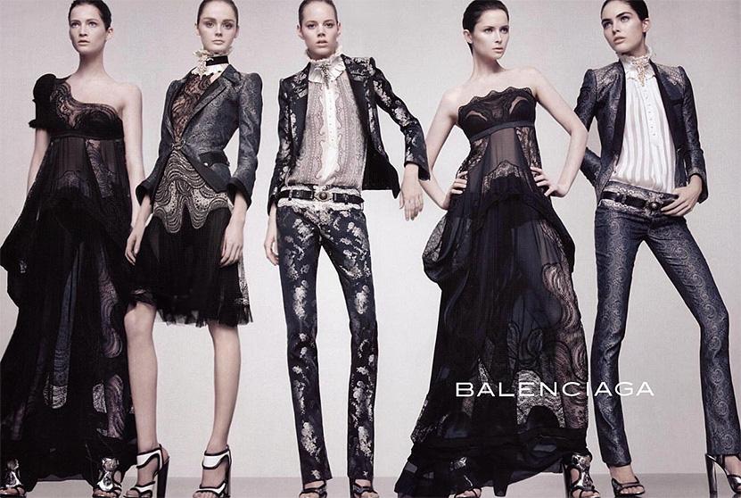 Коллекция женской одежды Balenciaga