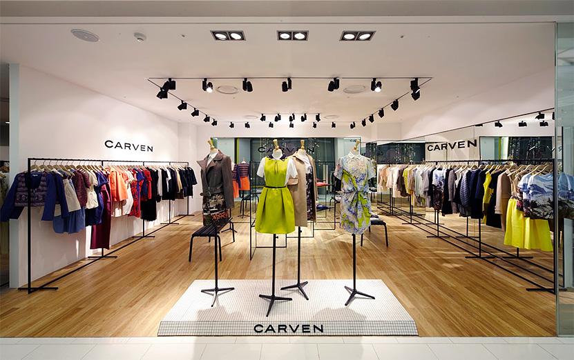 Интерьер брендового магазина Carven