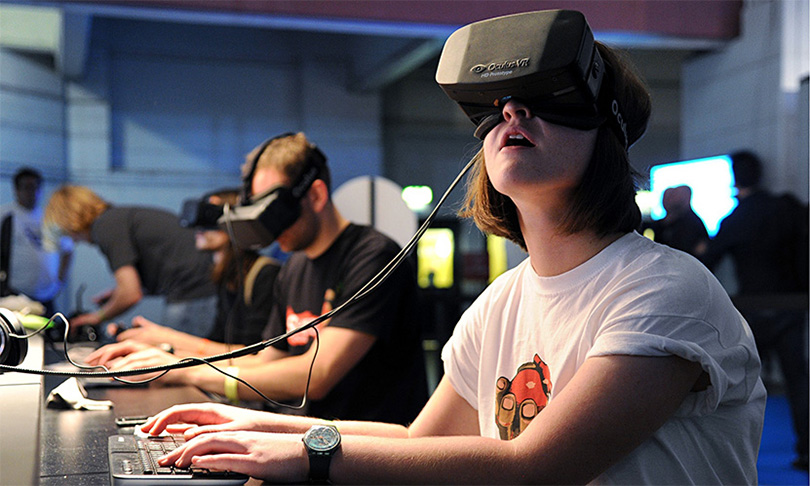 Oчки виртуальной реальности Oculus Rift