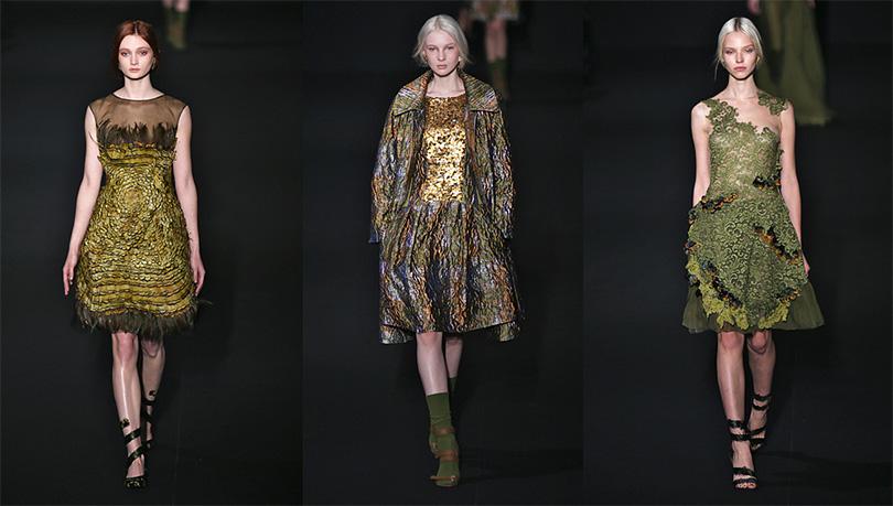 Показ новой коллекции одежды Alberta Ferretti