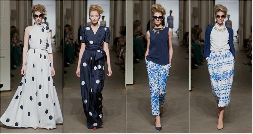 Показ новой коллекции женской одежды Александра Терехова
