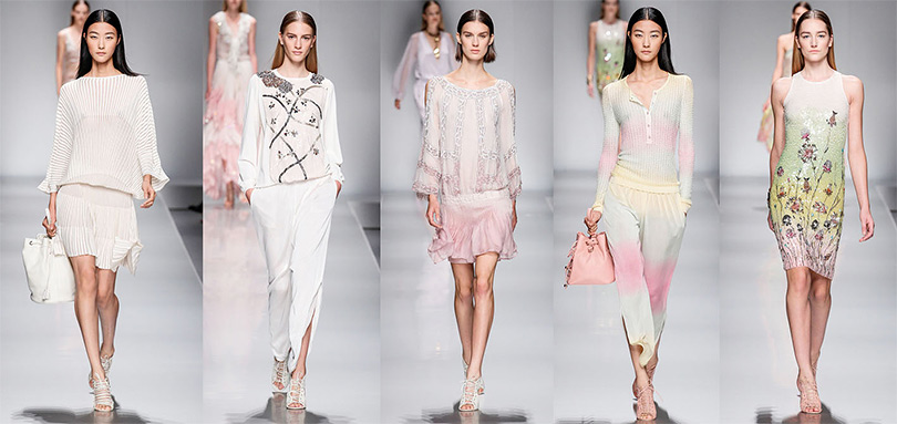 Показ новой коллекции женской одежды Anna Molinari