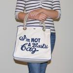 Сумка «I am Not A Plastic Bag» (на рус.  — «Я не полиэтиленовый пакет»)