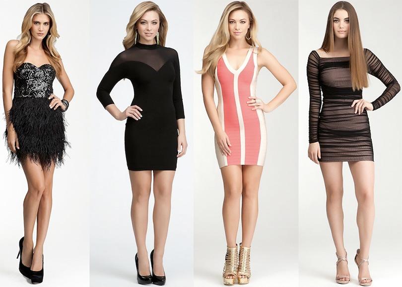 Коллекция женских платьев Bebe