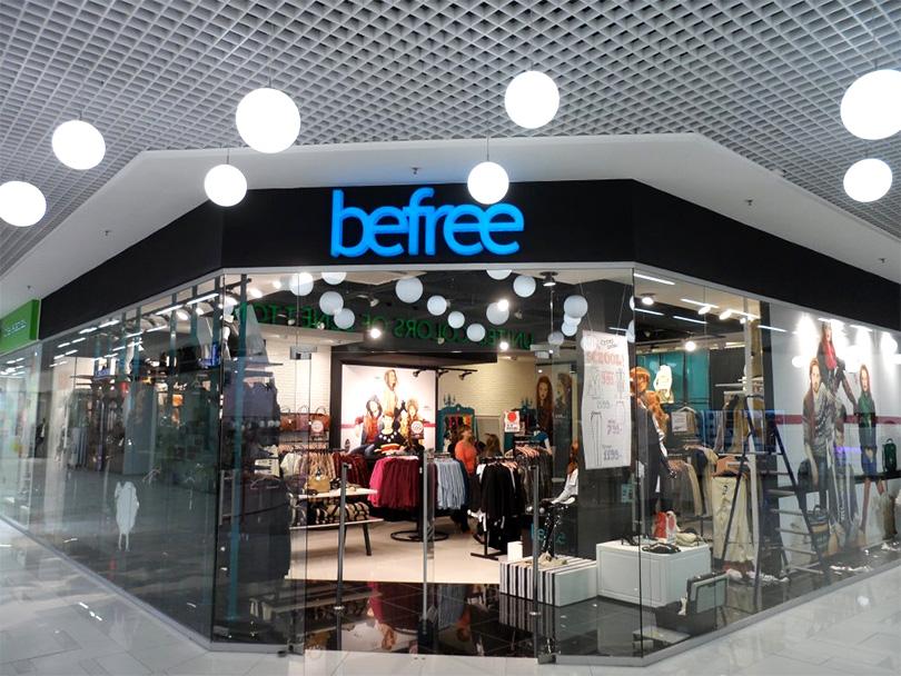 Витрина магазина Бифри