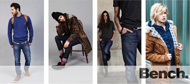Одежда бренда Bench