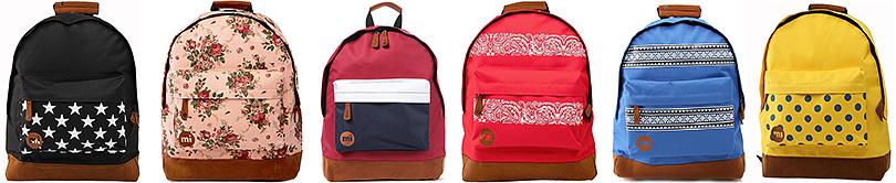 Коллекция рюкзаков Mi Pac