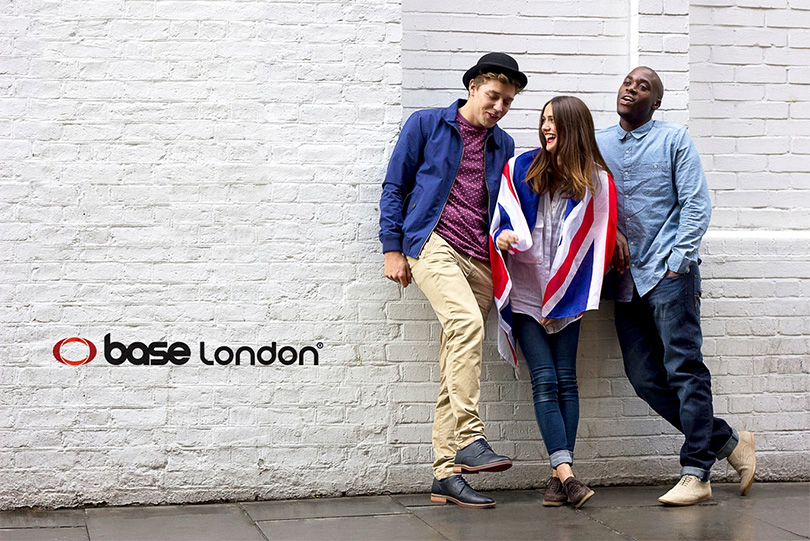Реклама обуви Base London