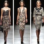 Показ новой коллекции платьев Bottega Veneta