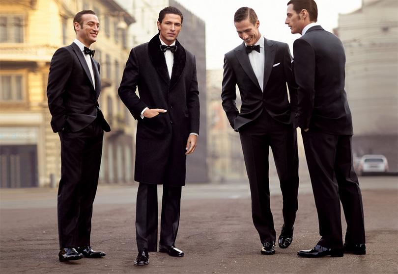 Коллекция мужских костюмов Zegna
