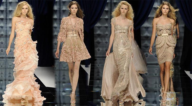 Показ коллекции вечерних платьев Зухаир Мурад