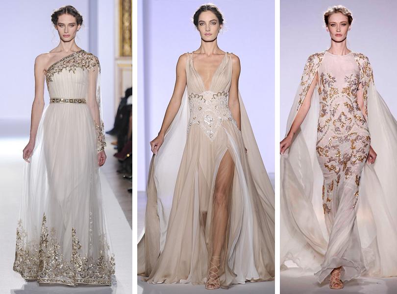 Вечерние платья из коллекции Zuhair Мurad