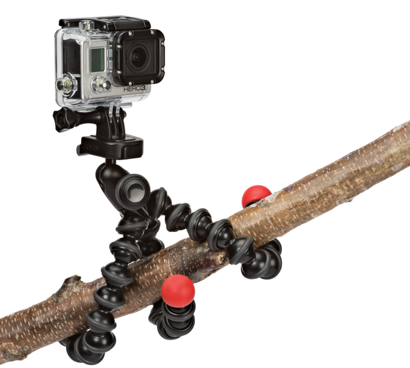 Гориллапод для камеры GoPro — пример крепления