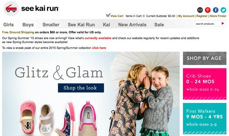 Американский магазин детской обуви See Kai Run & Smaller