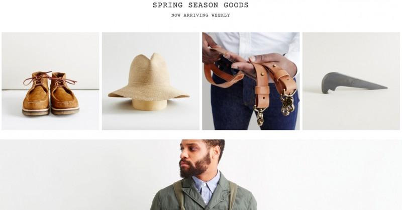 Американский-интернет магази одежды для мужчин Context Clothing