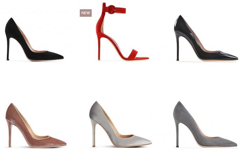 Туфли Gianvito Rossi из новой коллекции