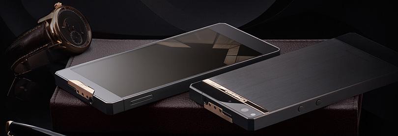 Новая коллекция смартфонов Gresso Regal с титановым корпусом и золотыми вставками 18 карат