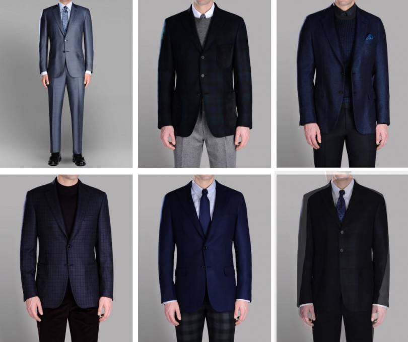 Мужские костюмы Brioni новой коллекции 2019 года