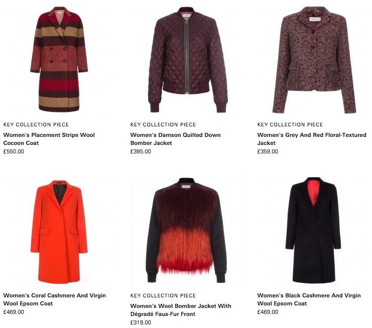 Коллекция женской одежды Paul Smith с ценами