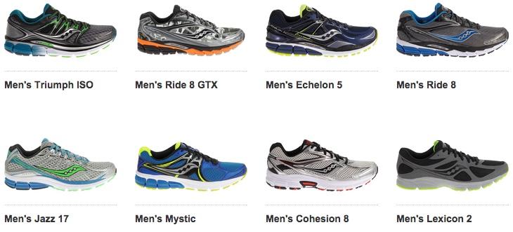 Коллекция кроссовок Saucony для бега