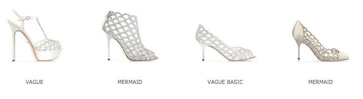 Женские туфли из свадебной коллекции