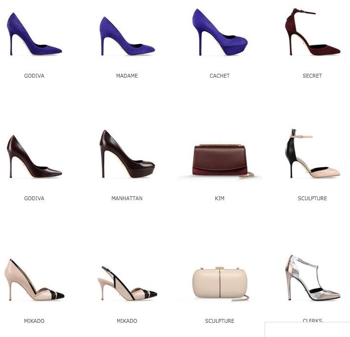 Женские туфли из новой коллекции
