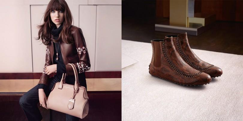 Женская сумка и обувь из новой коллекции 2019 года