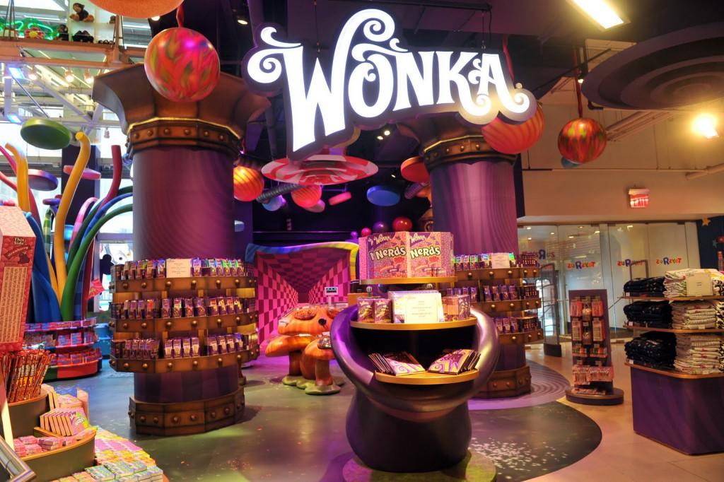 Офлайн магазин конфет и шоколада Wonka