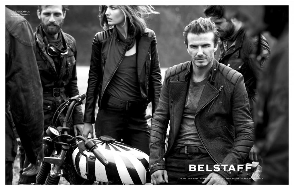 Девид Бекхэм в рекламе курток бренда