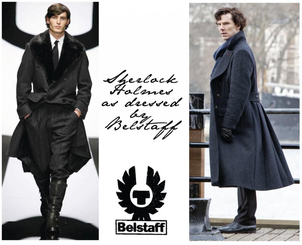 Шерлок тоже предпочитает пальто Belstaff